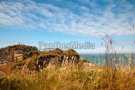 wales coast path fishguard coastline landscape