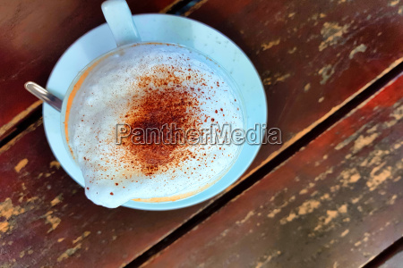 kaffeetasse im cafe