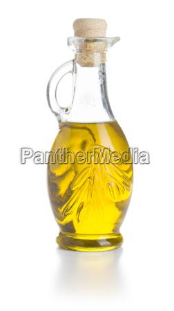 olivenoel in der flasche