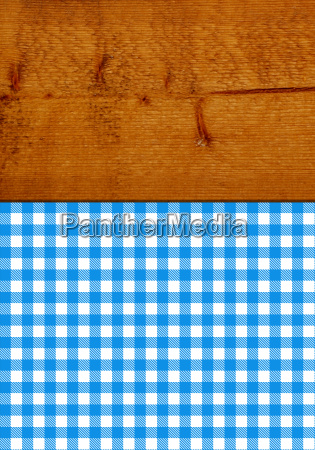 brown rustic wooden texture with blue