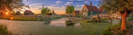 sonnenuntergang abendrot museum niederlande blicke blick