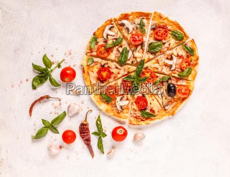 italienische, pizza - 25836758
