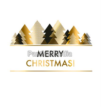 luxus stil schwarz und gold weihnachtskartenvorlage