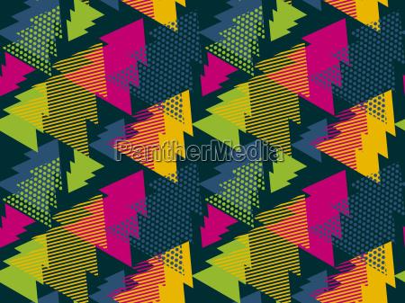 abstrakte kunst vektor hintergrund nahtloses muster