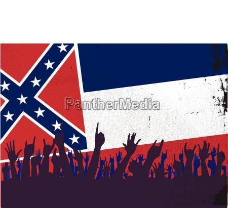 fahne flagge staat erfreut gluecklich anspruchslos