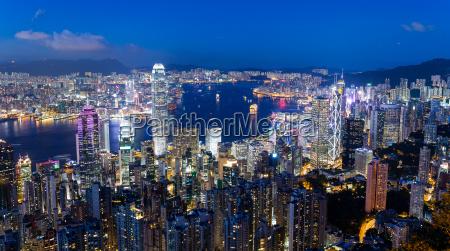 victoria peak hong kong 22 june