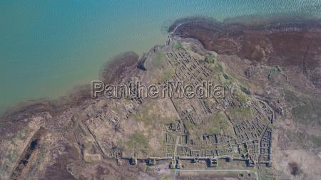 histria fortress ruins romania