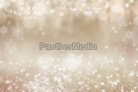 festive golden christmas background