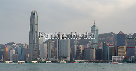 victoria harbour hong kong 07 april
