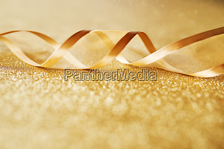 golden background with festive loop