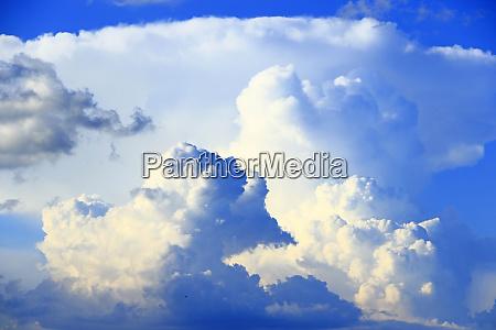 blau wolke witterung himmel firmament wetter