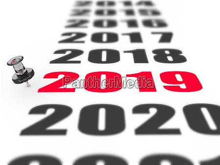 neues jahr 2019