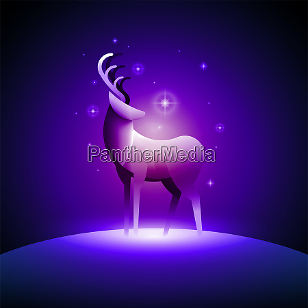deer vector illustration