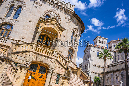 palace of justice in monaco on