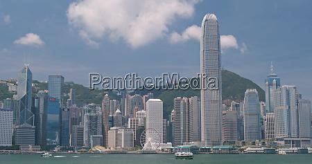 victoria harbour hong kong 31 mai