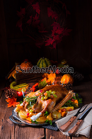 delicious crispy honey goose from the