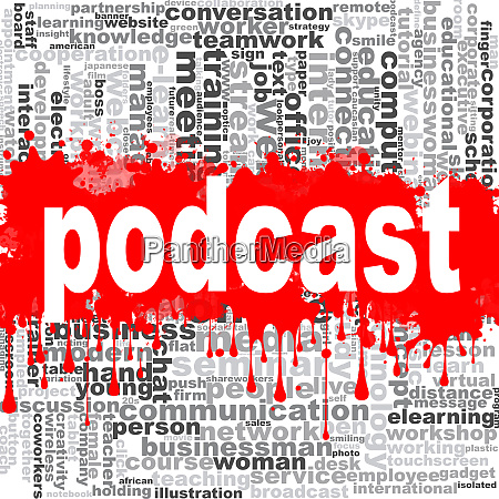 podcast wort wolke