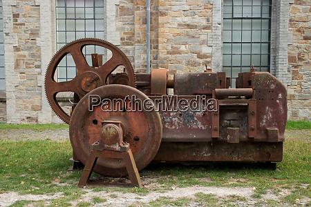 an old machine