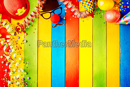brightly colored striped wood carnival background