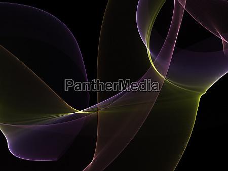 dunkler abstrakter hintergrund mit leuchtenden abstrakten
