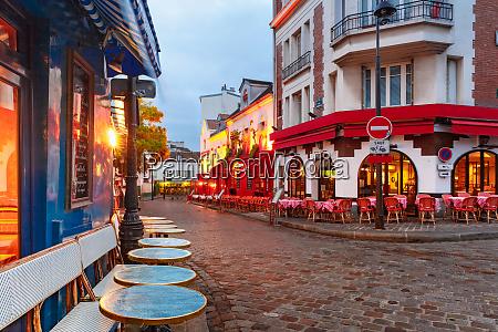montmartre in paris frankreich