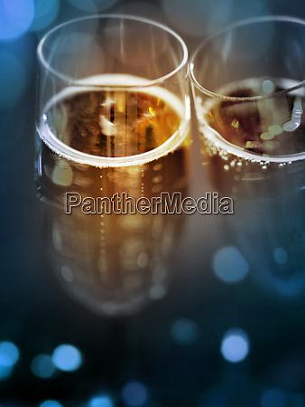 champagne glasses to celebrate