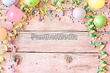 festival or carnival background in pastel