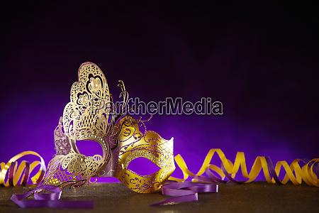 carnival or mardi gras background with