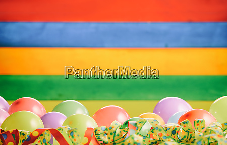 bright rainbow colored carnival background