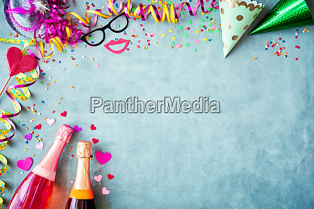 carnival or new years border background