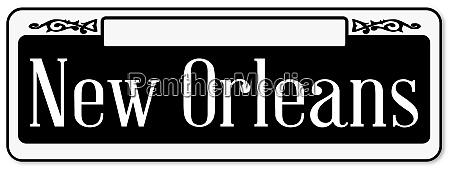 new orleans typisches zeichen
