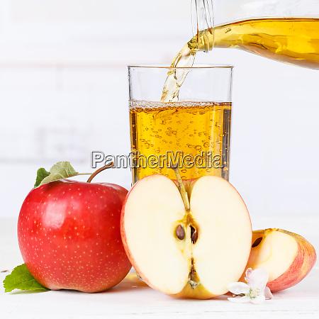 apple juice pouring pour apples fruit