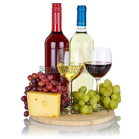 red wine cheese wines grapes square