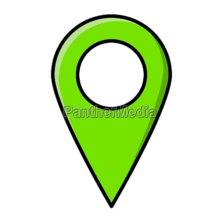 location pin for map vector design