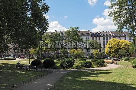baseler marktplatz in der innenstadt frankfurt