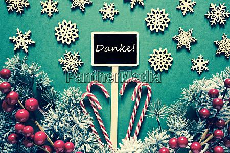 black christmas sign lights danke means