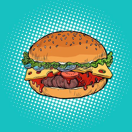 burger fast food restaurant