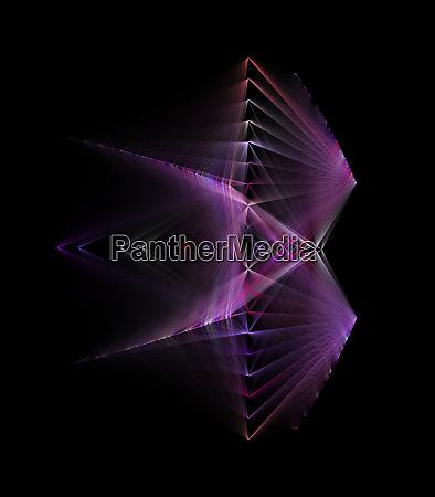 abstract futuristic design concept for alien