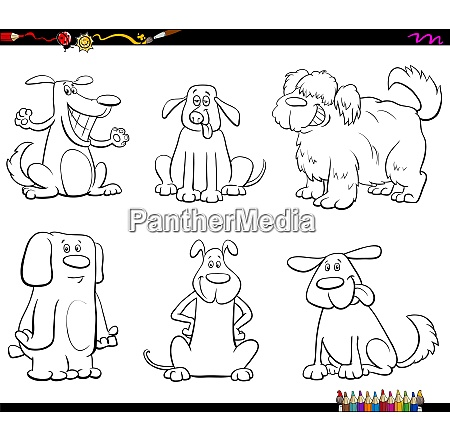 cartoon dog or puppy comic characters