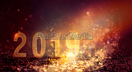 new year shiny abstract background