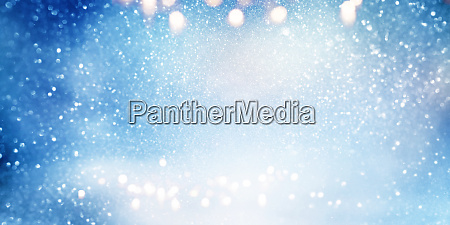 abstract blue snowy background