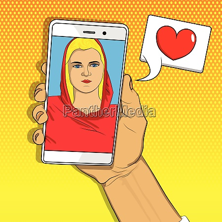 online dating fernbeziehung konzept
