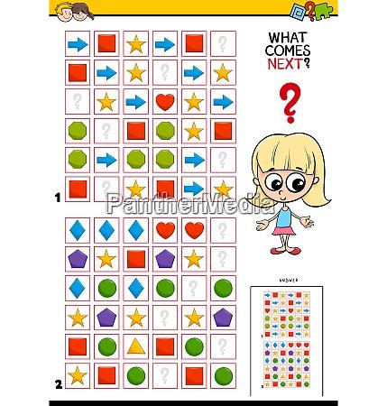 muster komplett fertig puzzle bildung cartoon