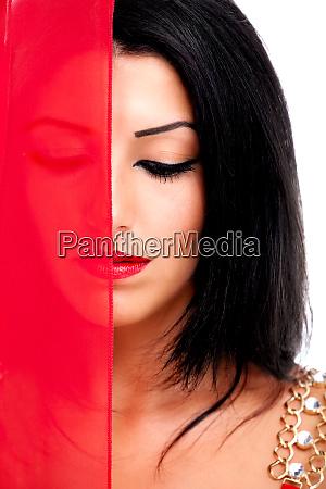 schoenheit in rot