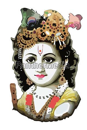 lord krishna festival hinduism culture mythology