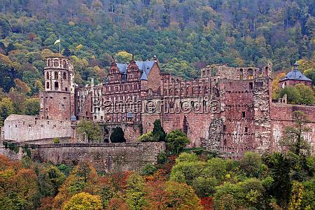 heidelberg castle in october 2018