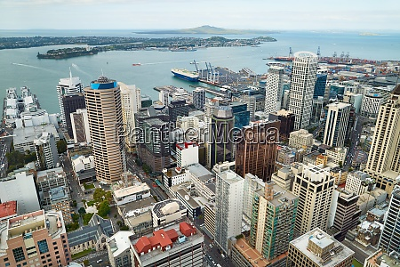 auckland city panorama