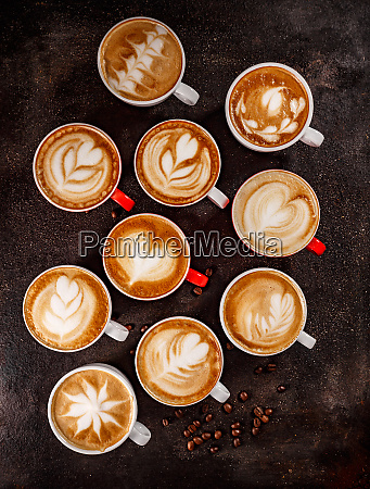 kaffee latte kunst set