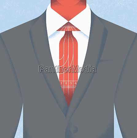 close up of businessman in suit