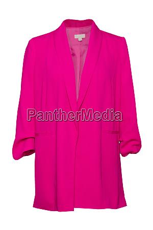 frauen jacken frau rosa jacke isoliert